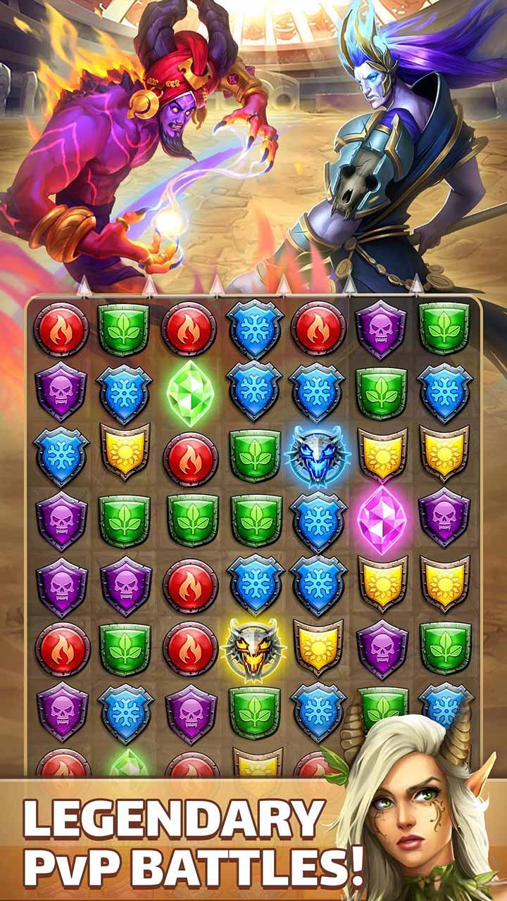 Empires & Puzzles screen 3