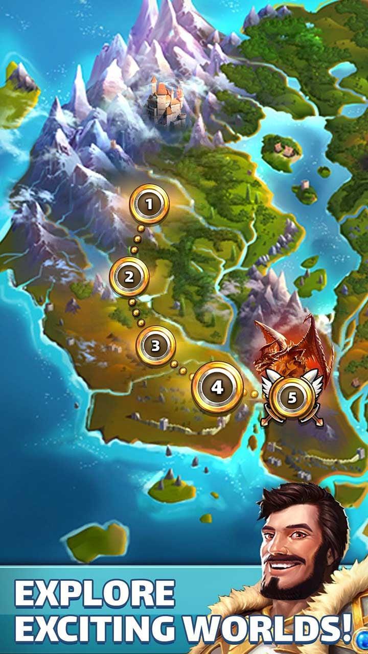 Empires & Puzzles screen 4