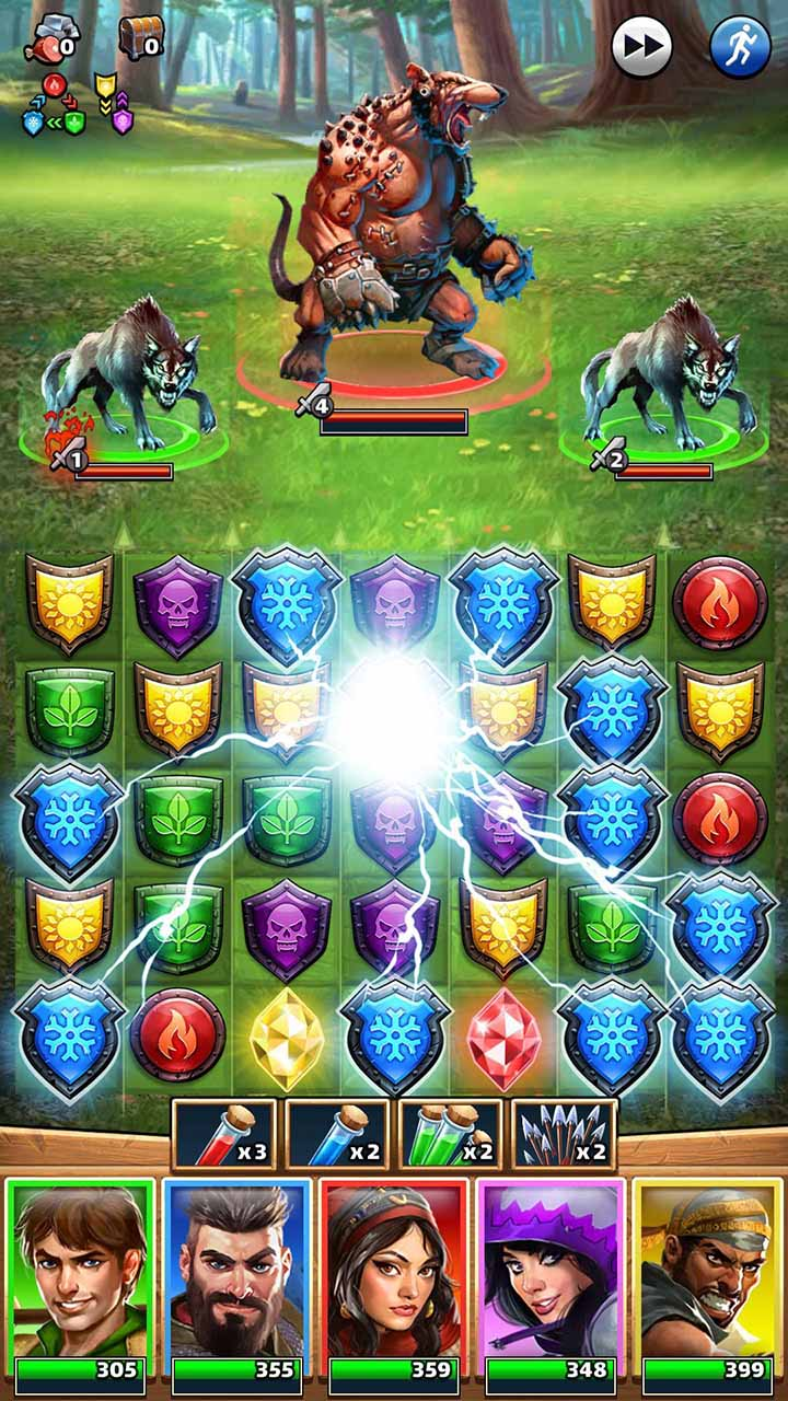 Empires & Puzzles screen 6