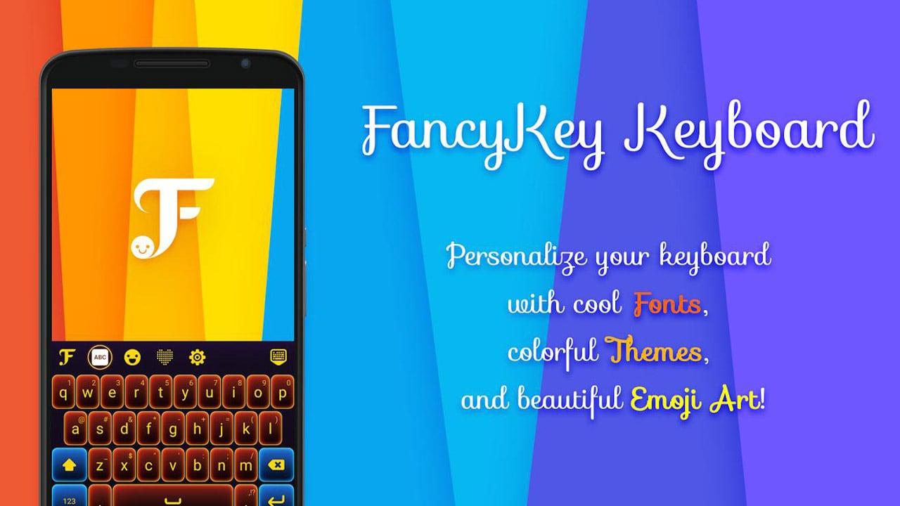 FancyKey Keyboard poster