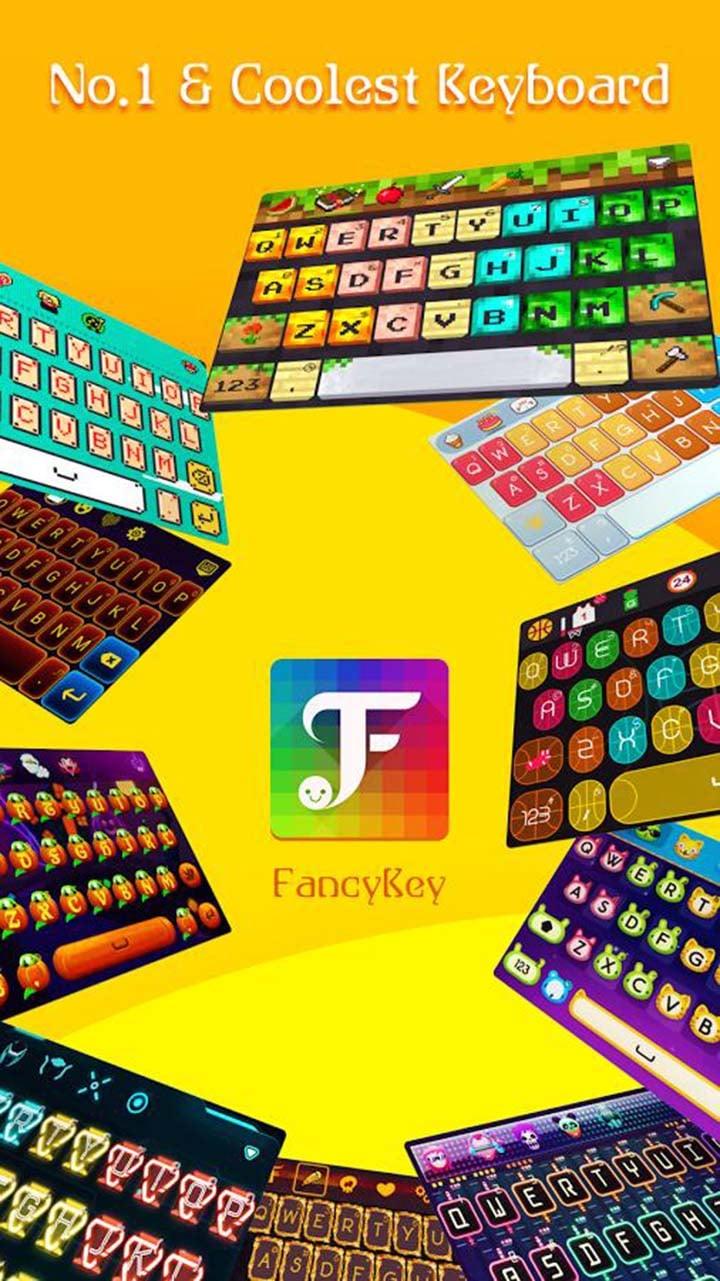 FancyKey Keyboard screen 2