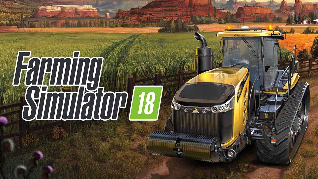 Farming Simulator 18 poster