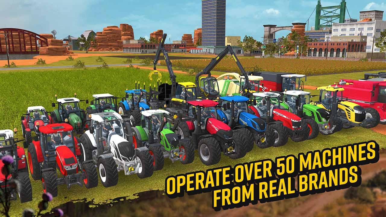 Farming Simulator 18 screen 1