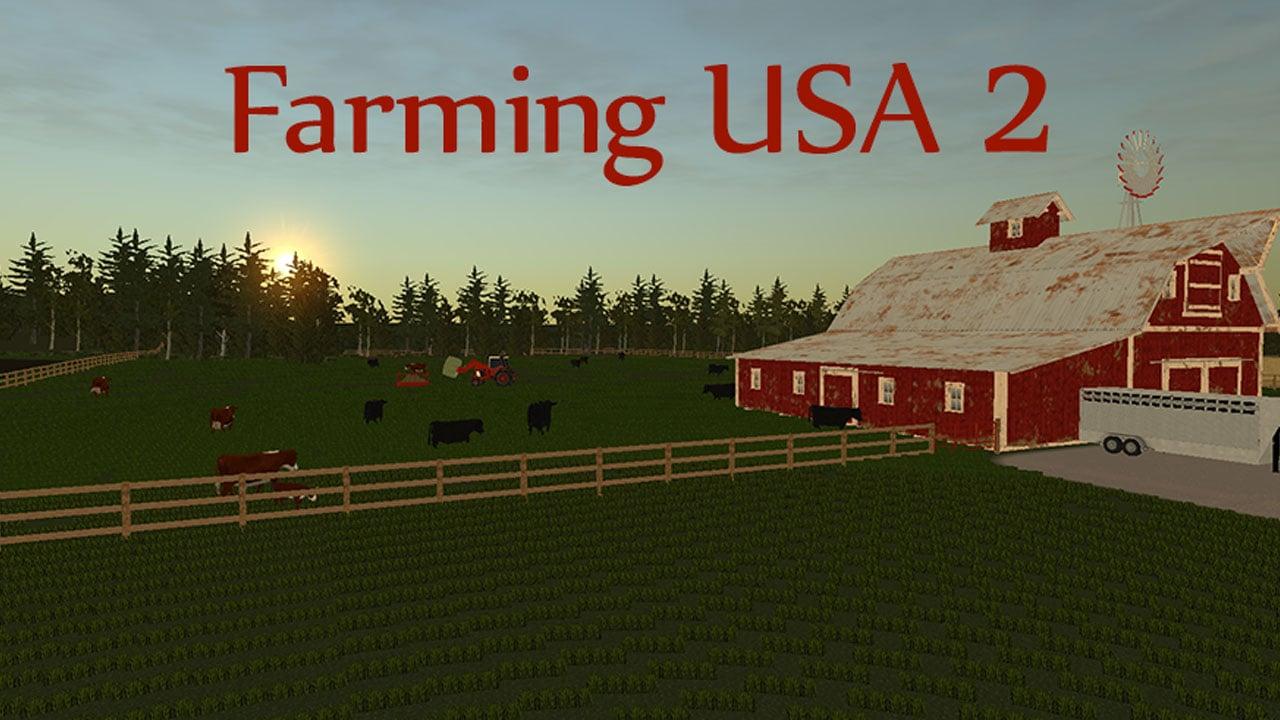 Farming USA 2 poster