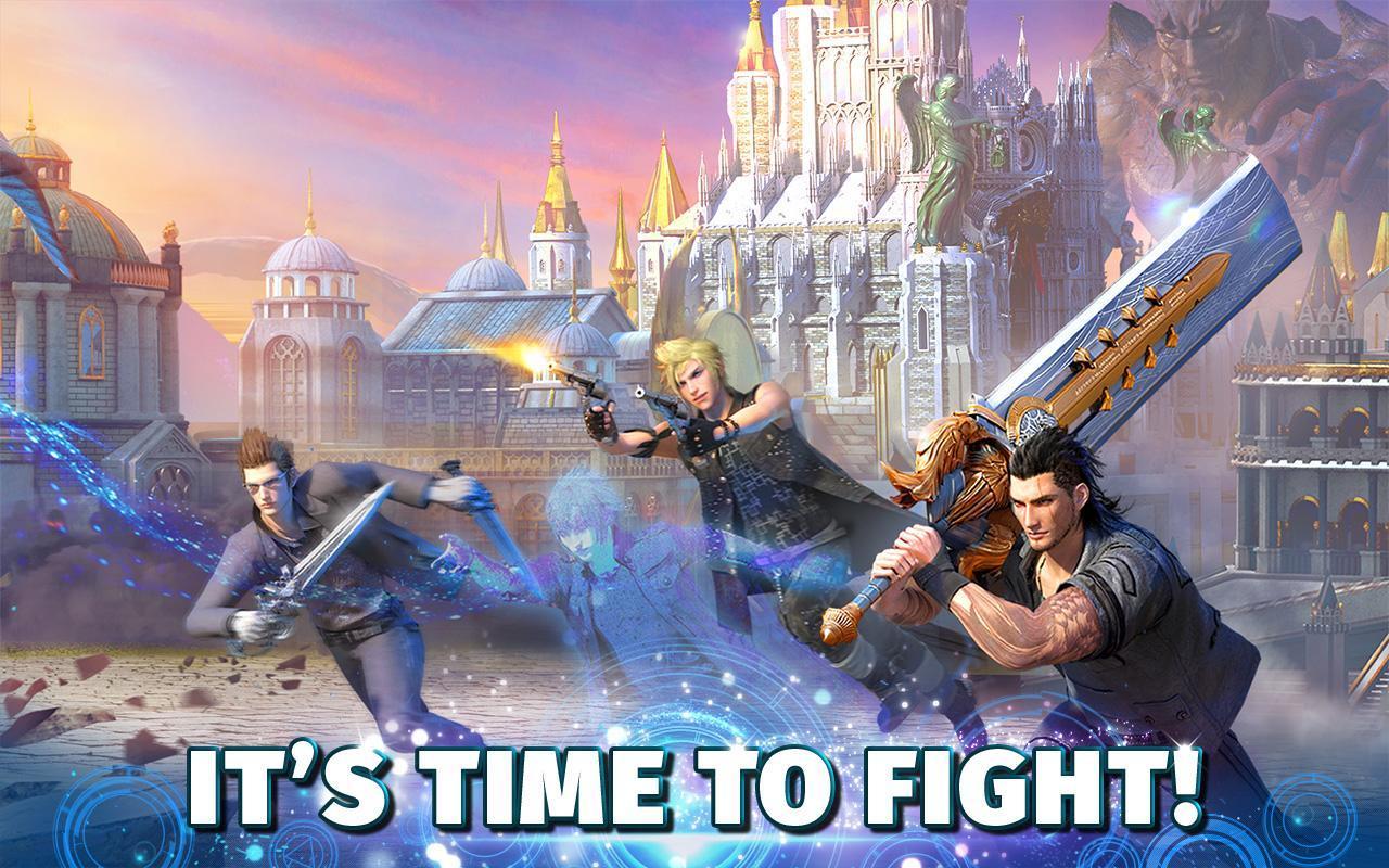 Final Fantasy XV A New Empire poster 1