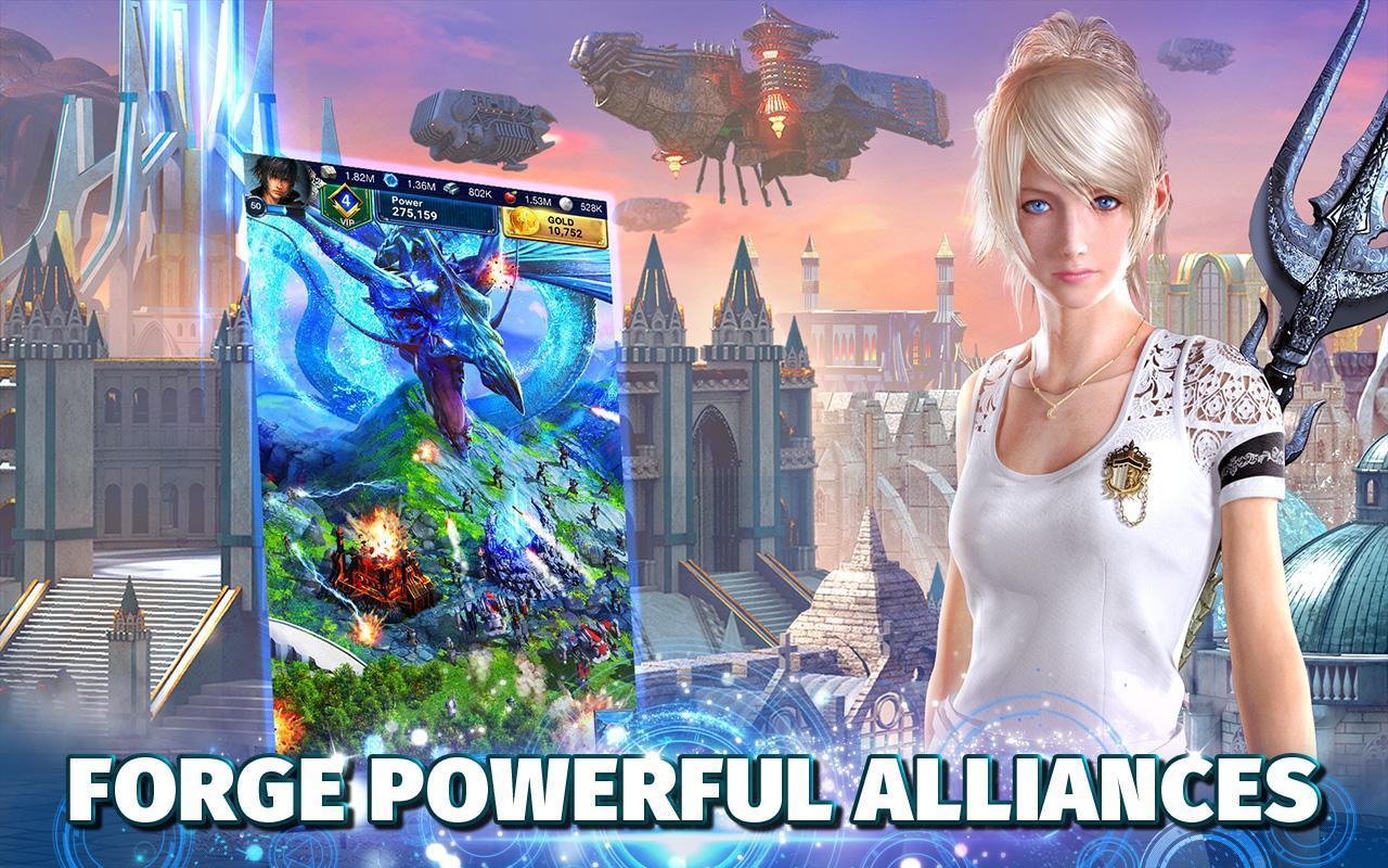 Final Fantasy XV A New Empire poster 2
