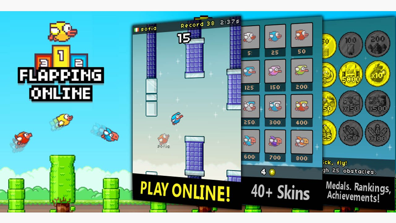 Flapping Online poster