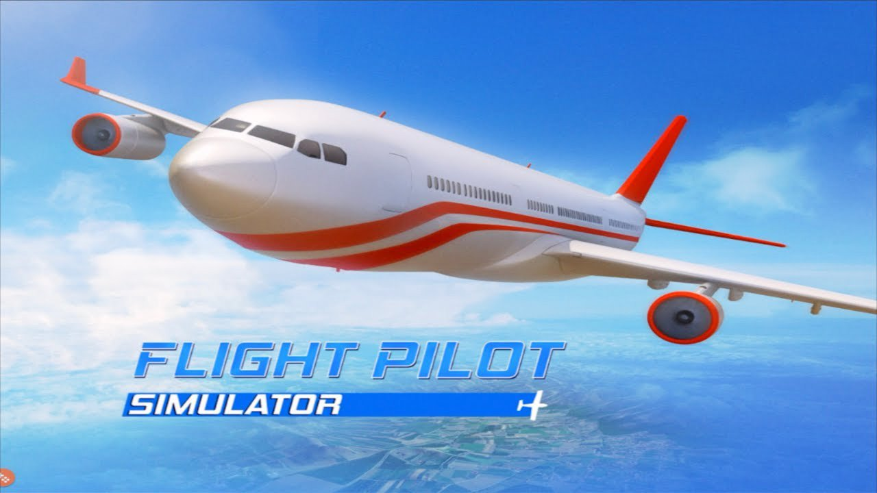 Flight Pilot Simulator 3D poster