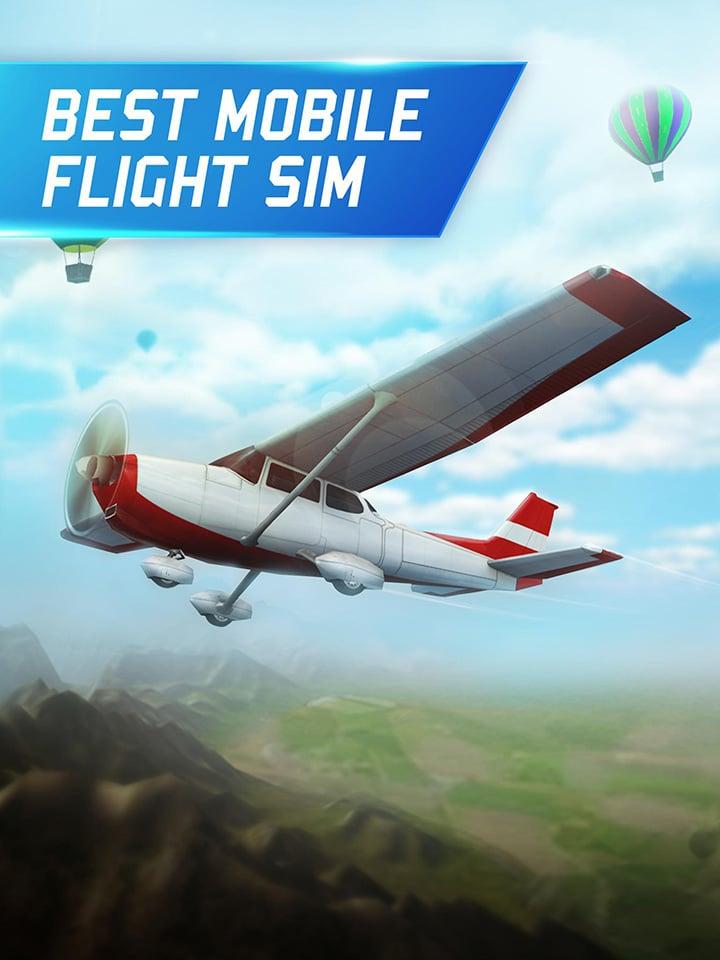 Flight Pilot Simulator 3D screen 1