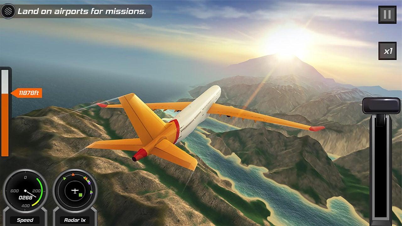 Flight Pilot Simulator 3D screen 5