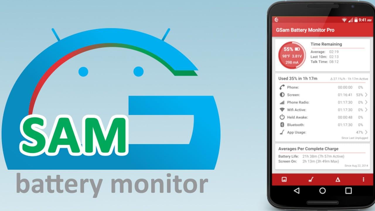 GSam Battery Monitor Pro poster