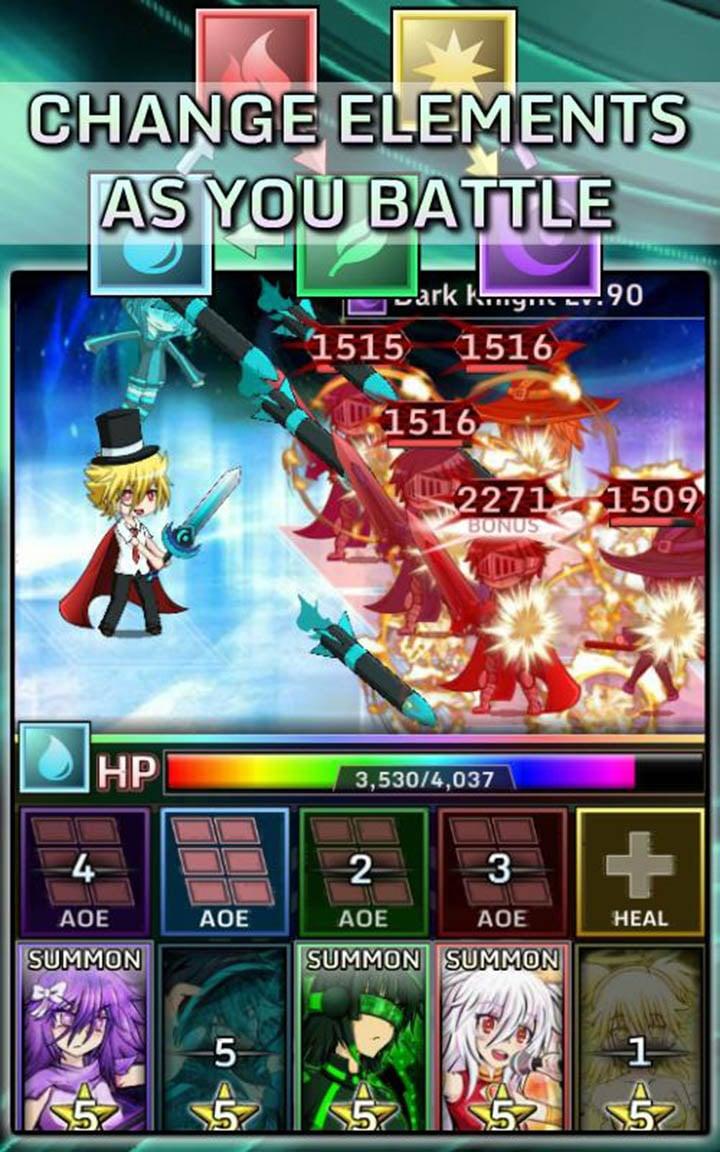 Gacha World screen 3