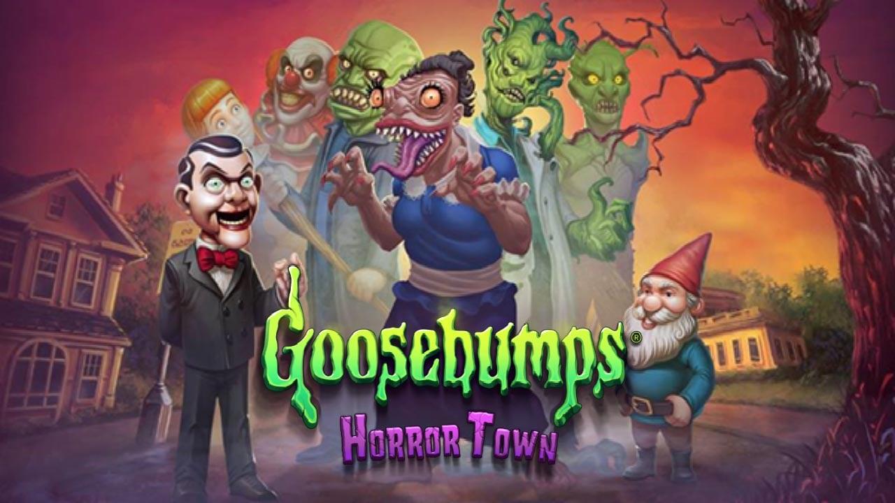 Goosebumps HorrorTown poster