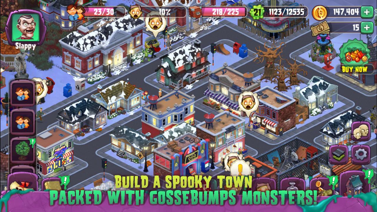 Goosebumps HorrorTown screen 0