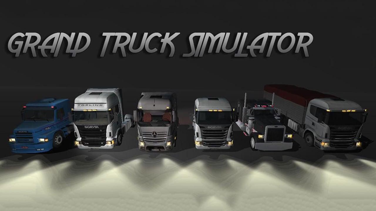 Grand Truck Simulator poster