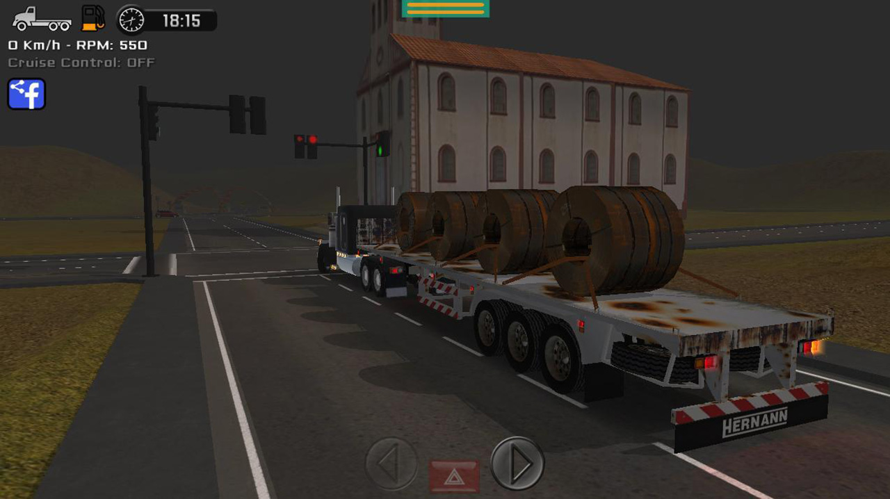 Grand Truck Simulator screen 1