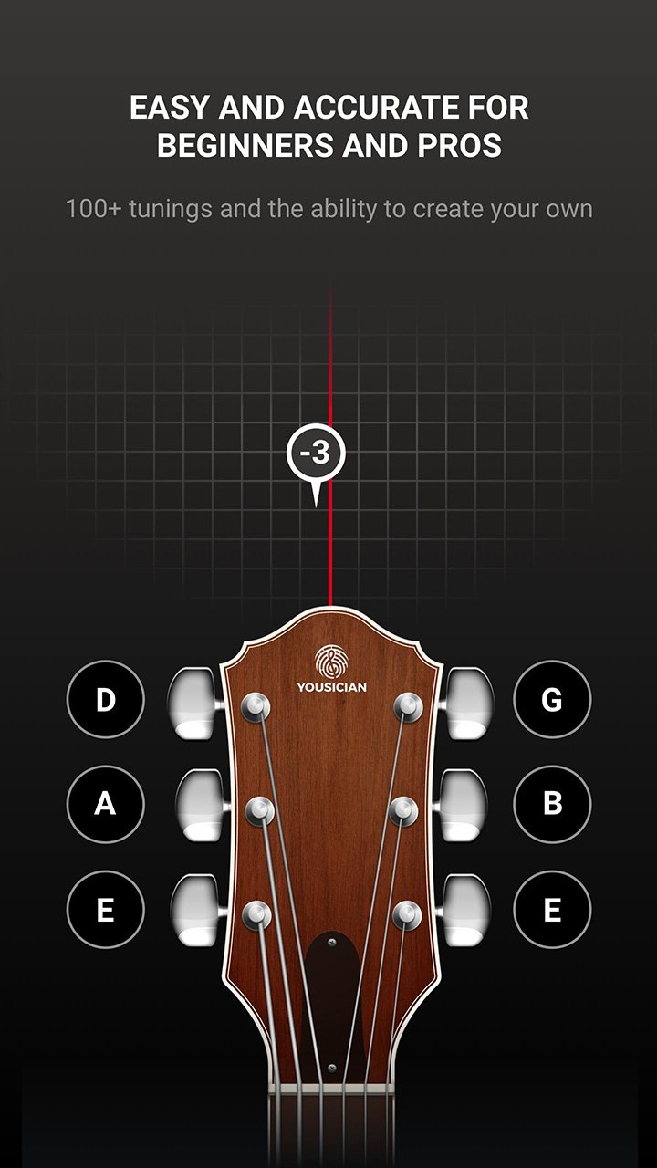 GuitarTuna screen 1