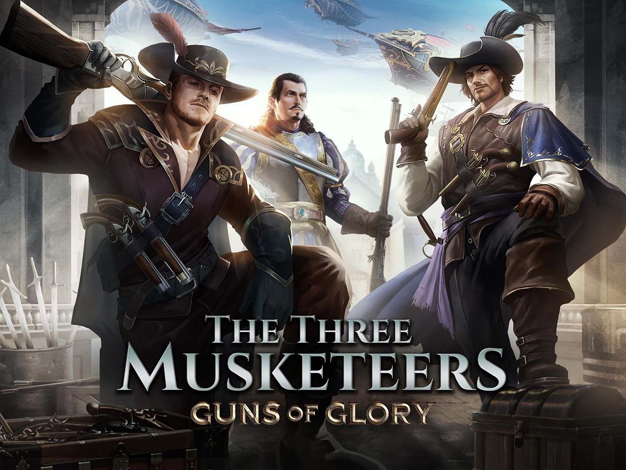 Guns of Glory screen 0