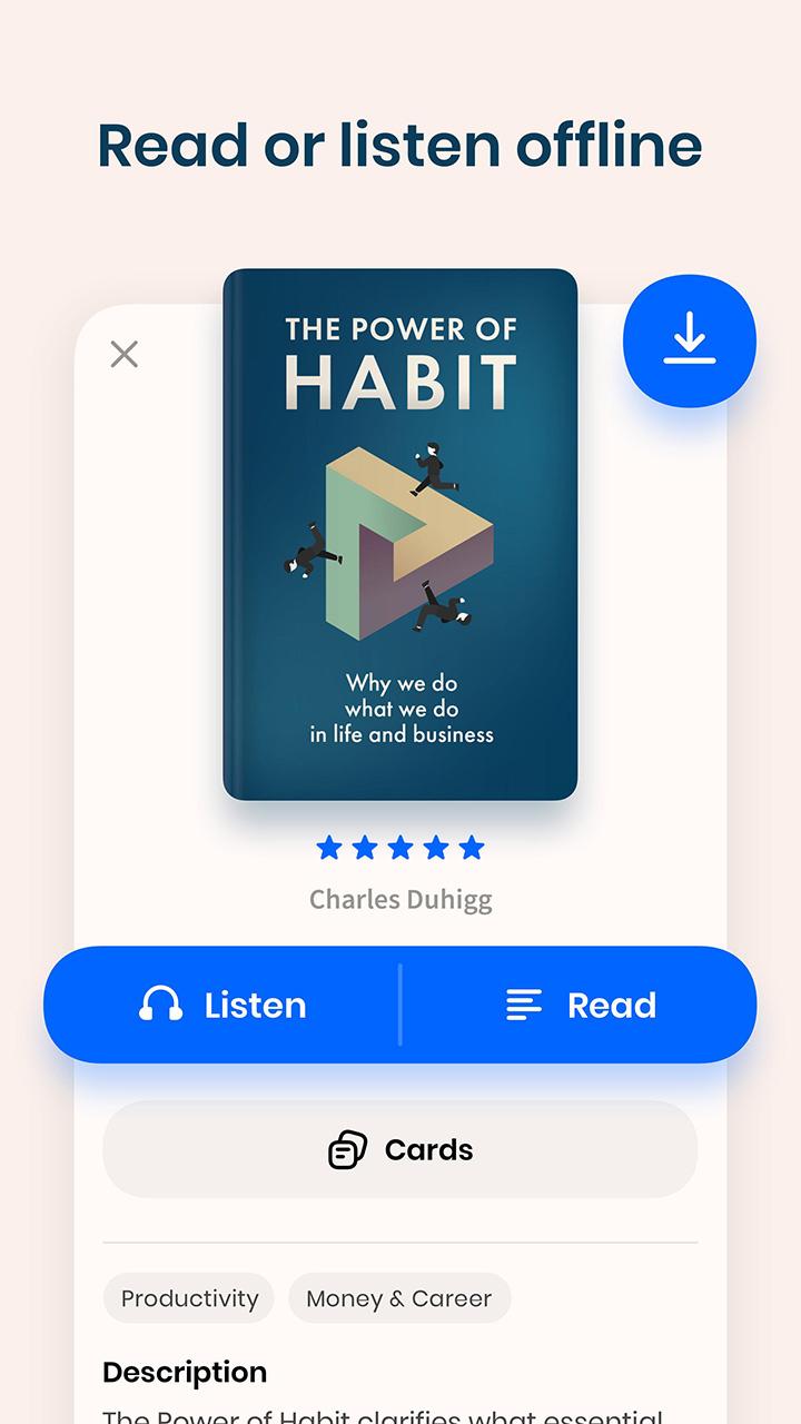 Headway Books Key Ideas screen 1