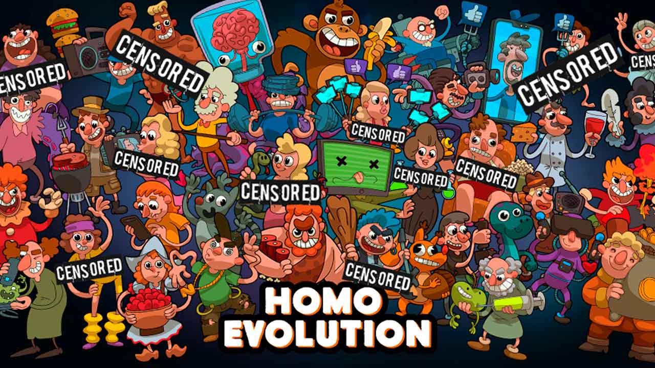 Homo Evolution poster