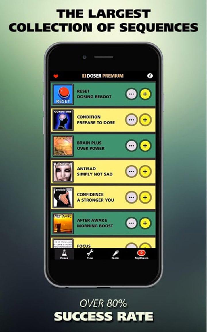I Doser Premium screen 1