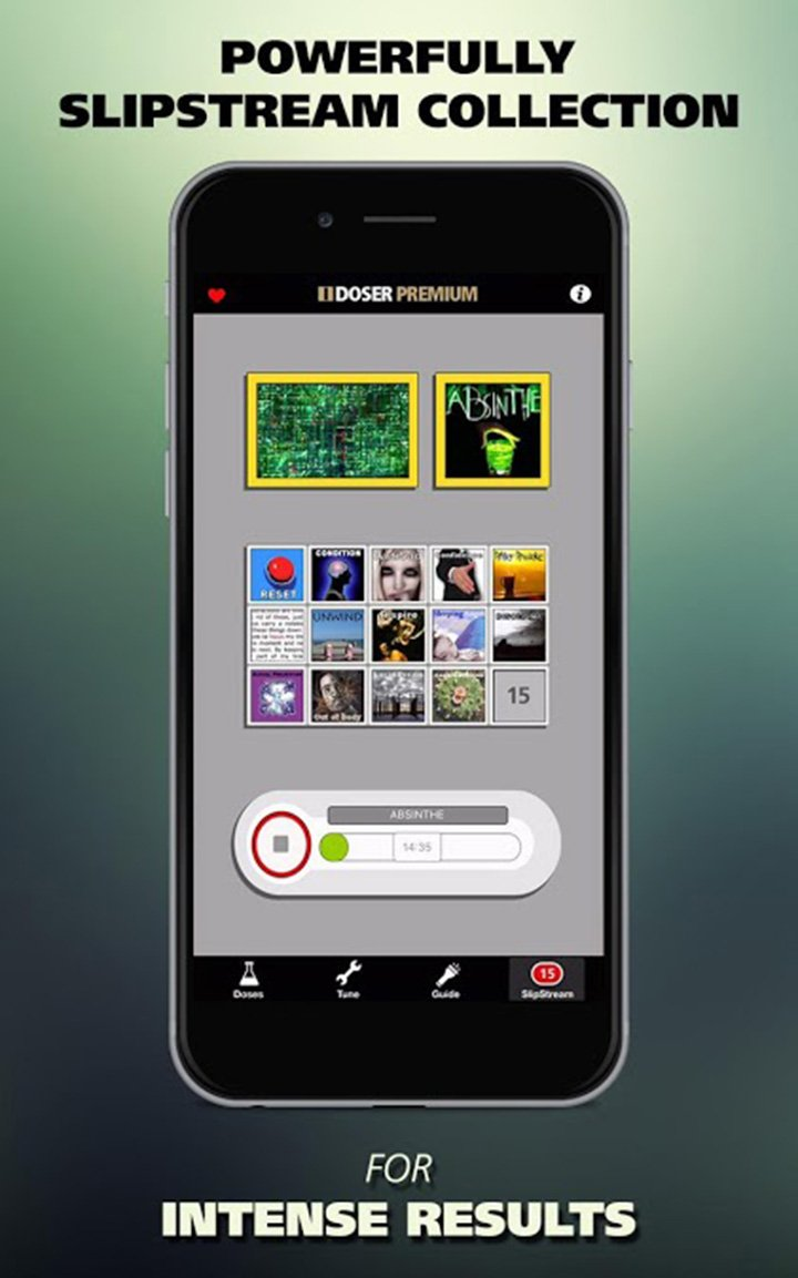 I Doser Premium screen 2