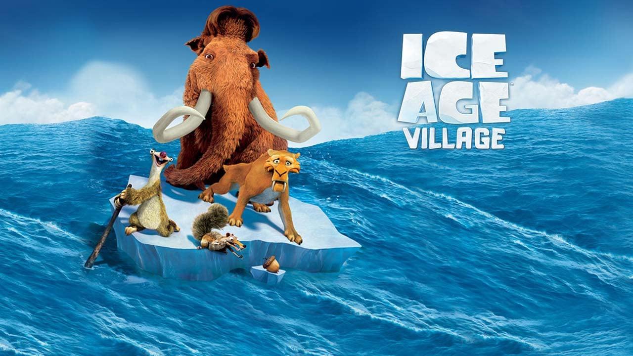 Ice Age Village poster