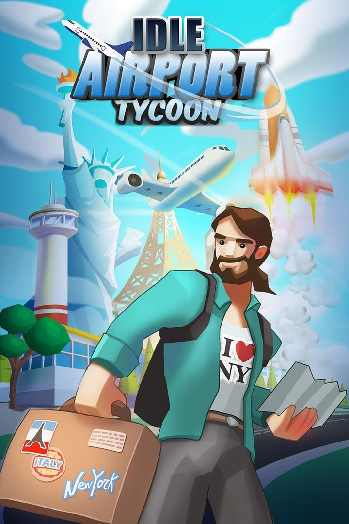 Idle Airport Tycoon screen 0