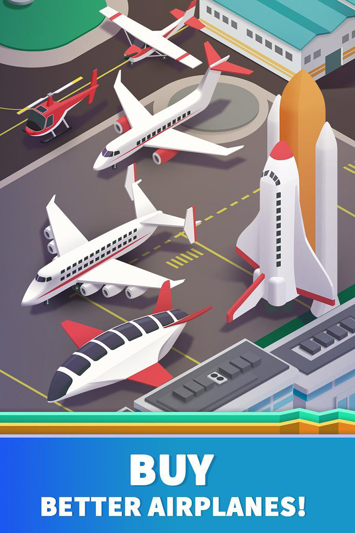 Idle Airport Tycoon screen 2