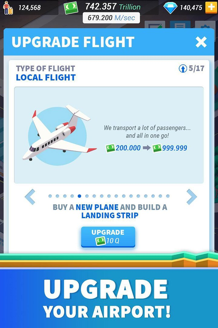 Idle Airport Tycoon screen 3