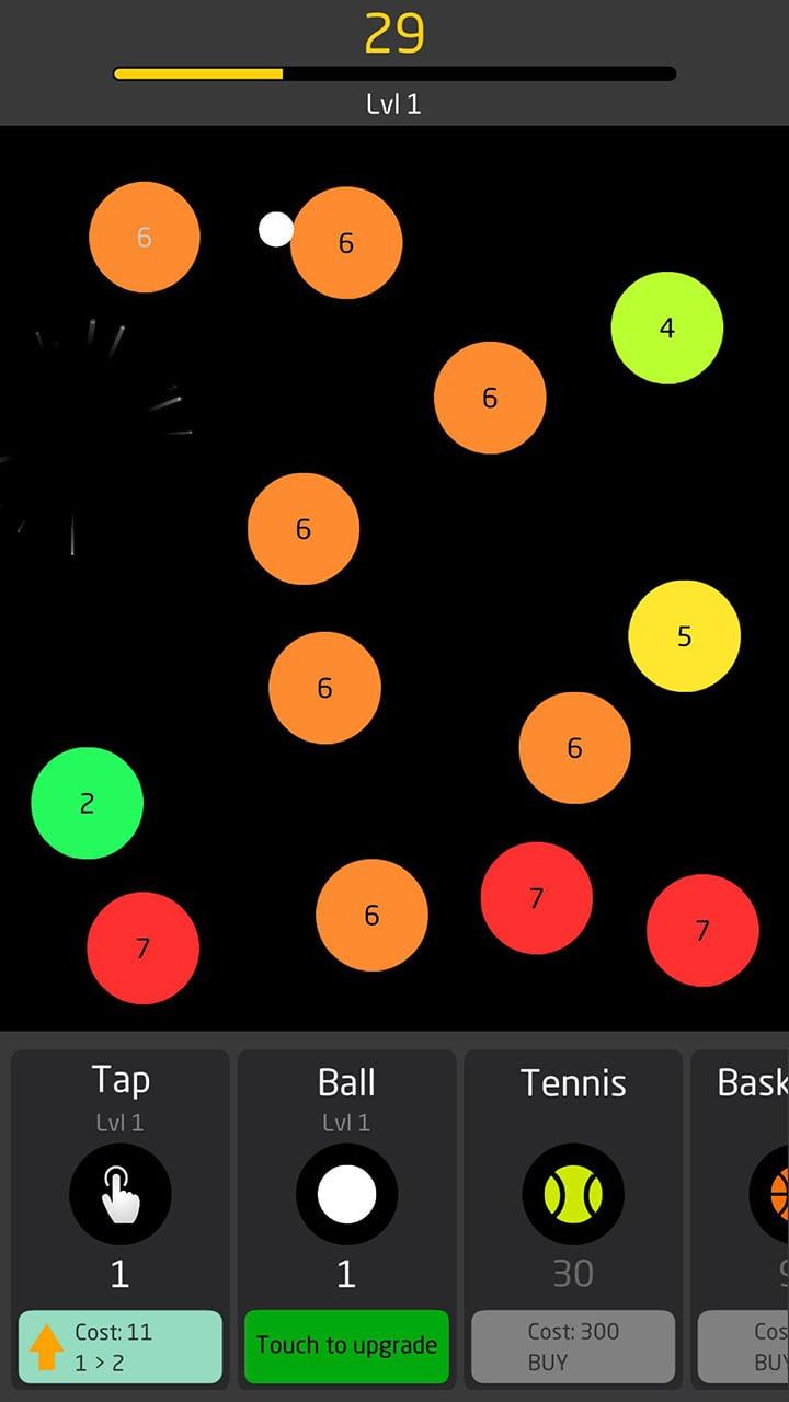 Idle Balls screen 2