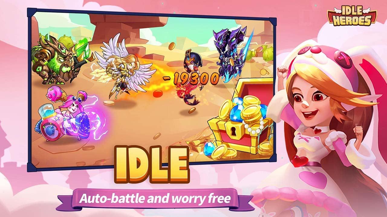 Idle Heroes screen 2