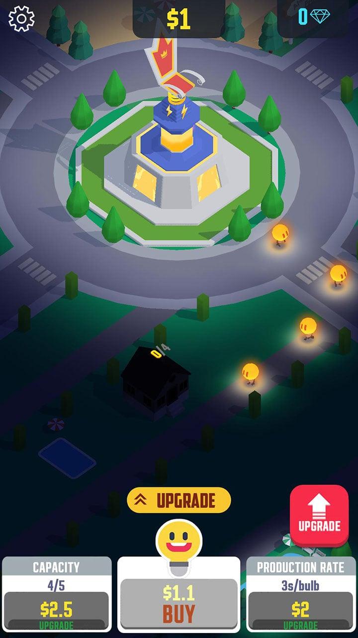 Boşta Işık Şehir ekranı 1
