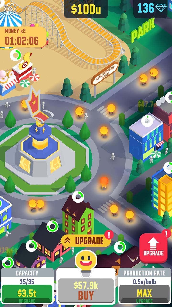 Idle Light City screen 3