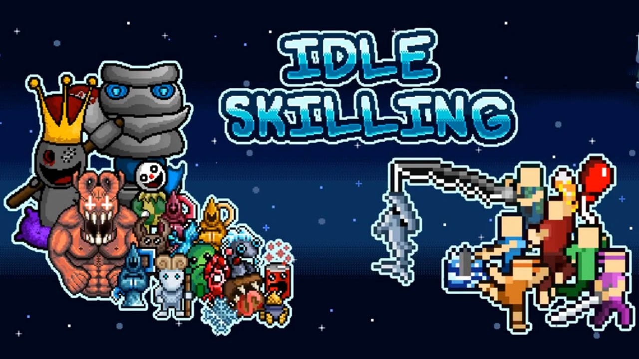 Idle Skilling poster