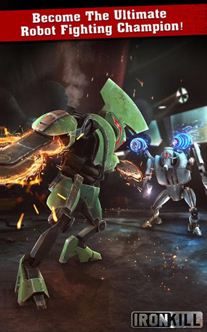 Iron Kill screen 1