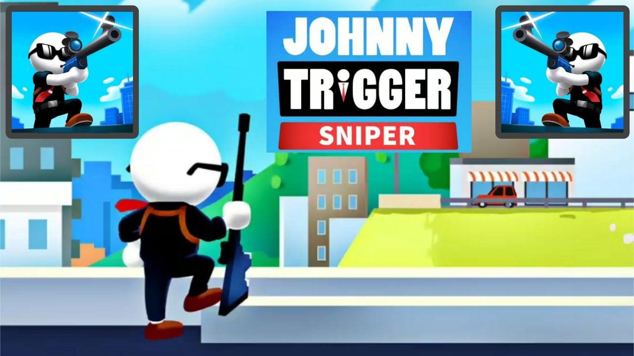 Johnny Trigger Sniper poster