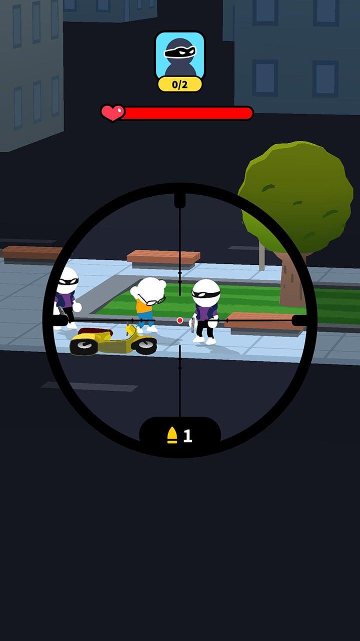 Johnny Trigger Sniper screen 1