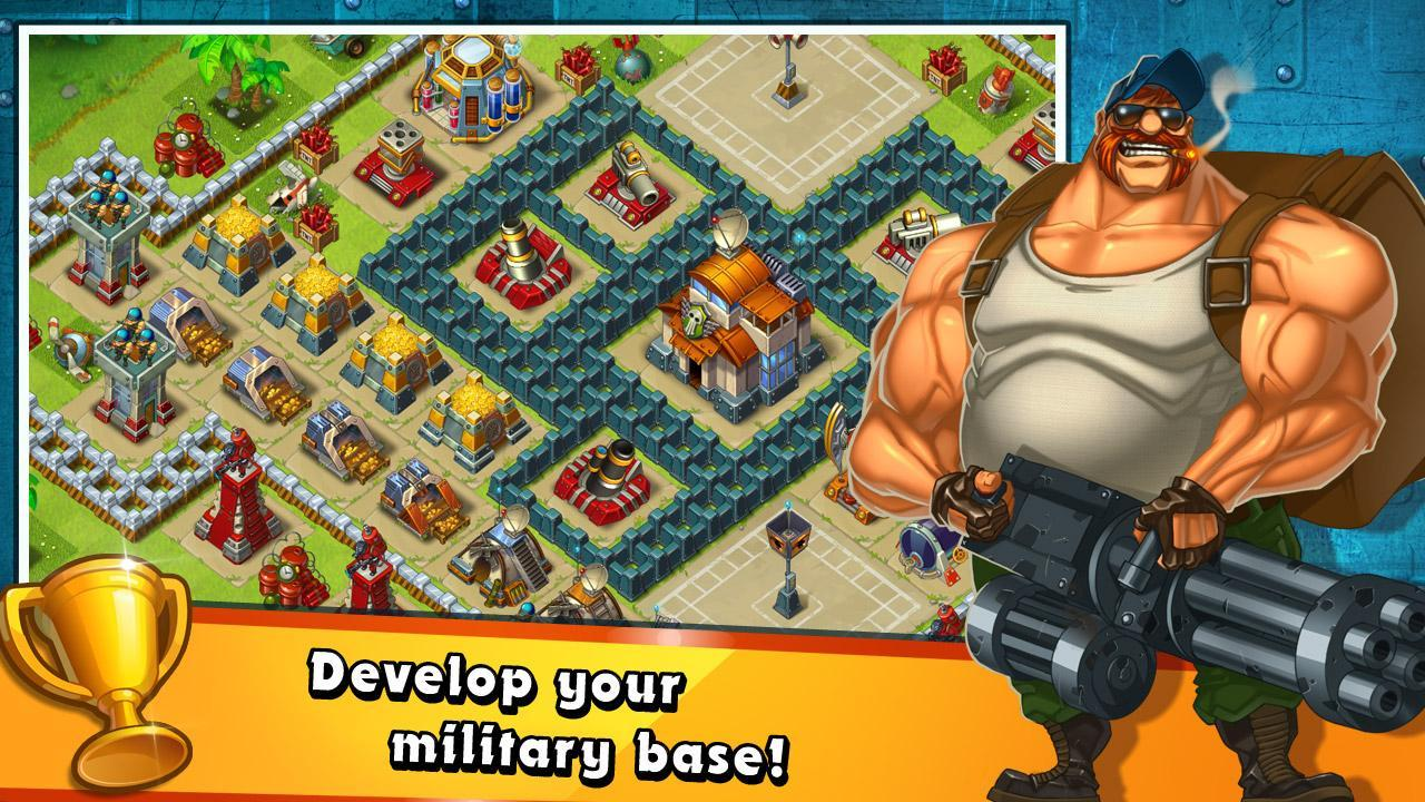 Jungle Heat War of Clans screen 3