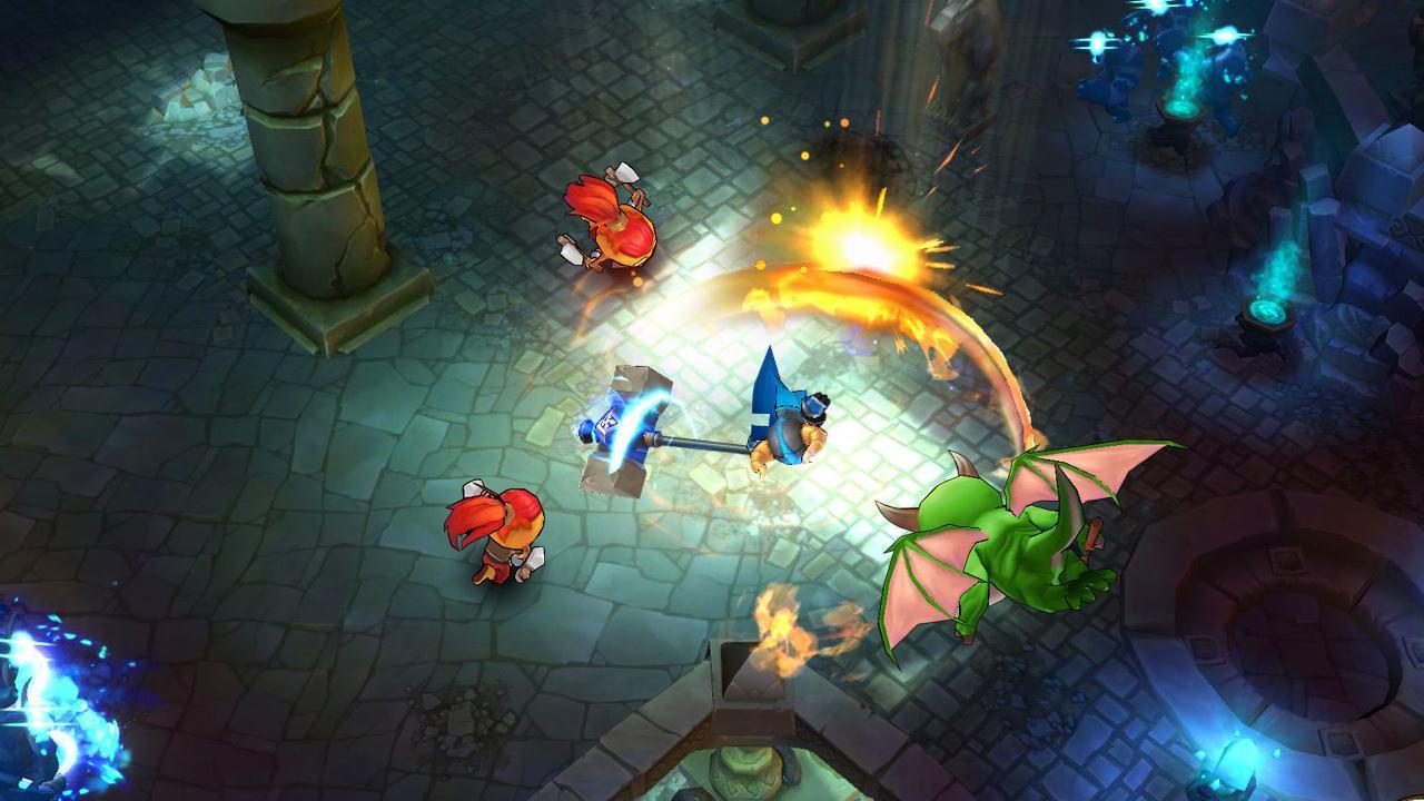 King Battle Fighting Hero legend screen 3