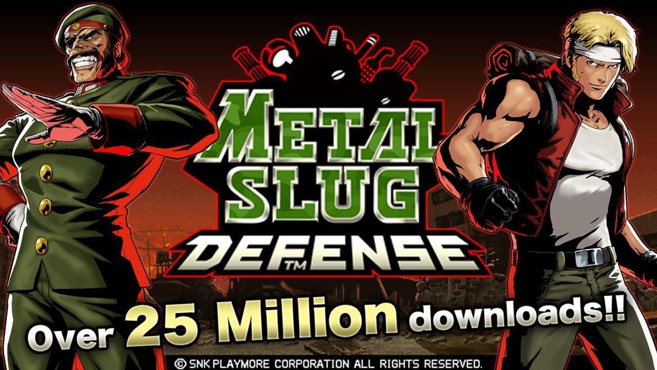 METAL SLUG DEFENSE poster
