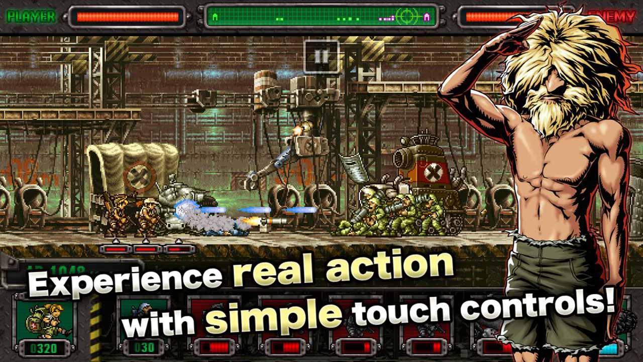 METAL SLUG DEFENSE screen 1