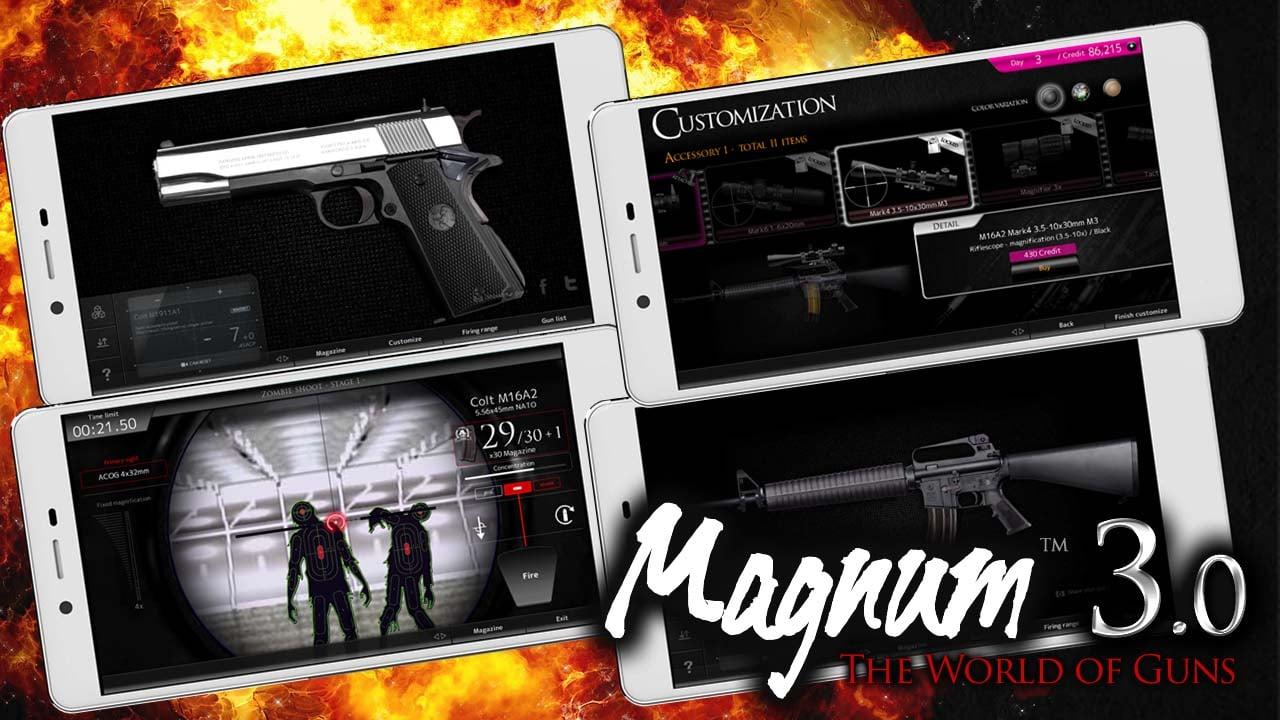 Magnum 30 Gun Custom Simulator poster