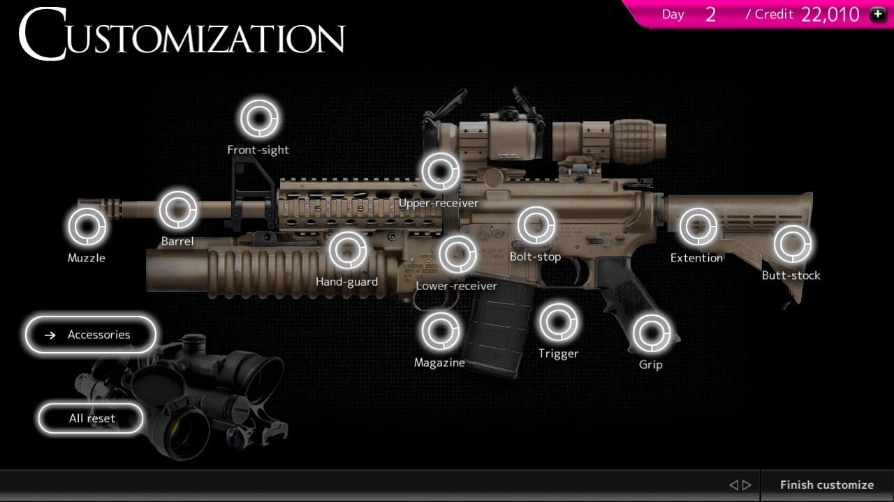 Magnum 30 Gun Custom Simulator screen 1