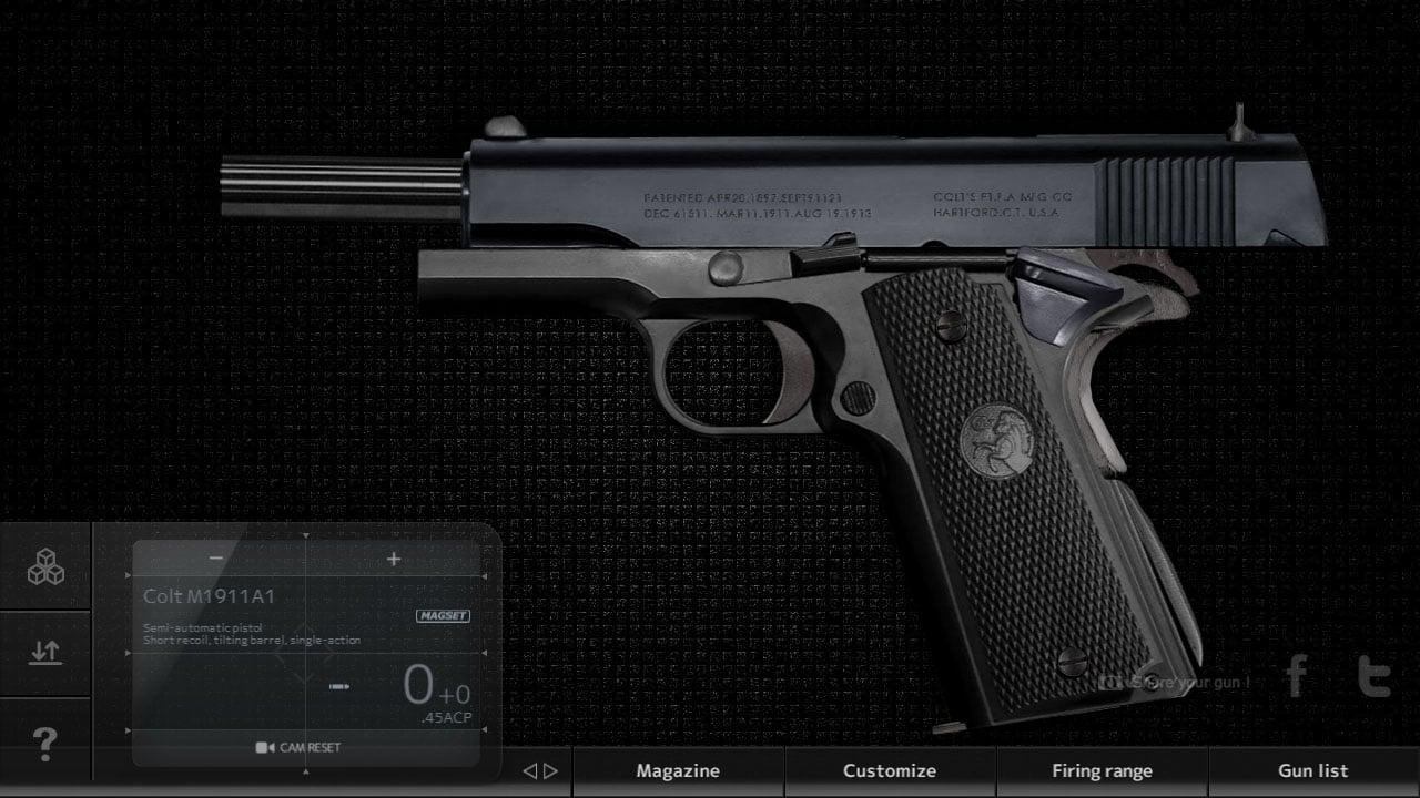 Magnum 30 Gun Custom Simulator screen 2