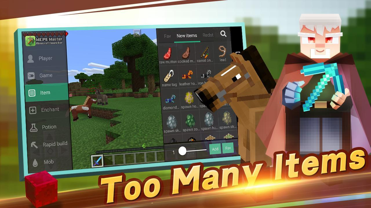 Master for Minecraft screen 2