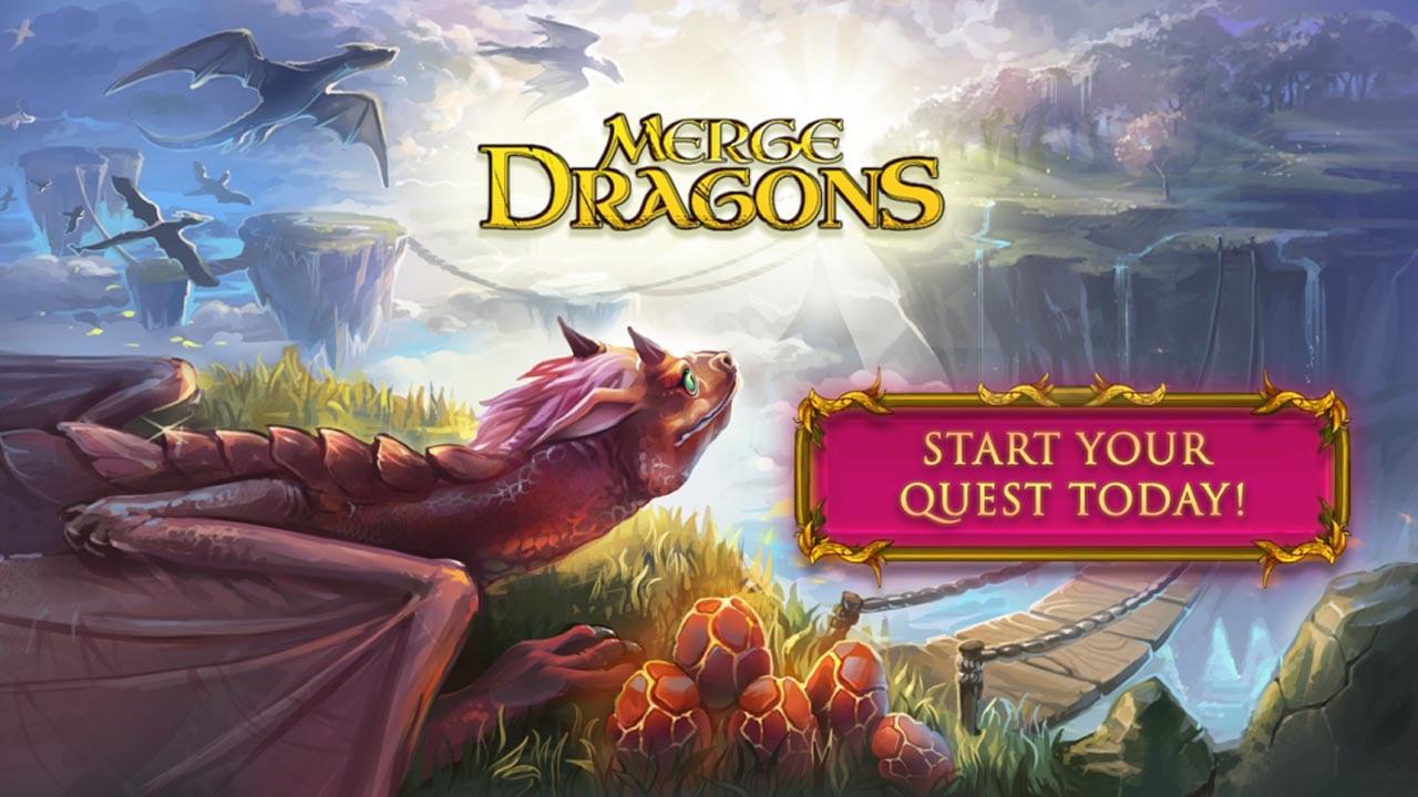 Merge Dragons poster