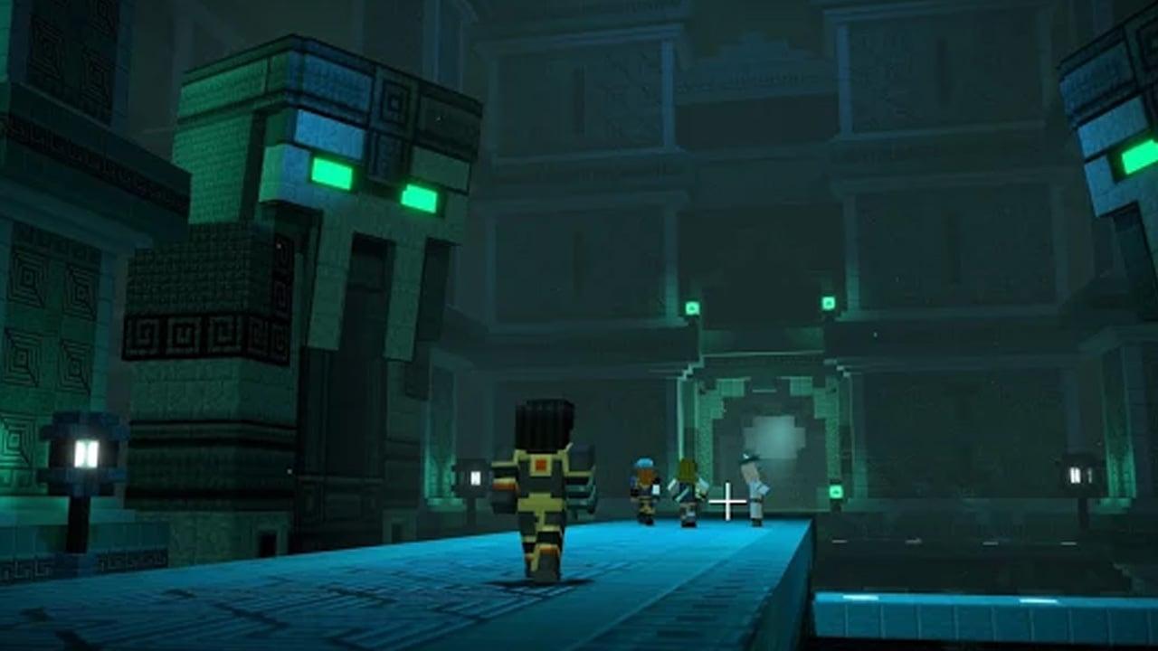 Minecraft Story Mode Season Two screen 1