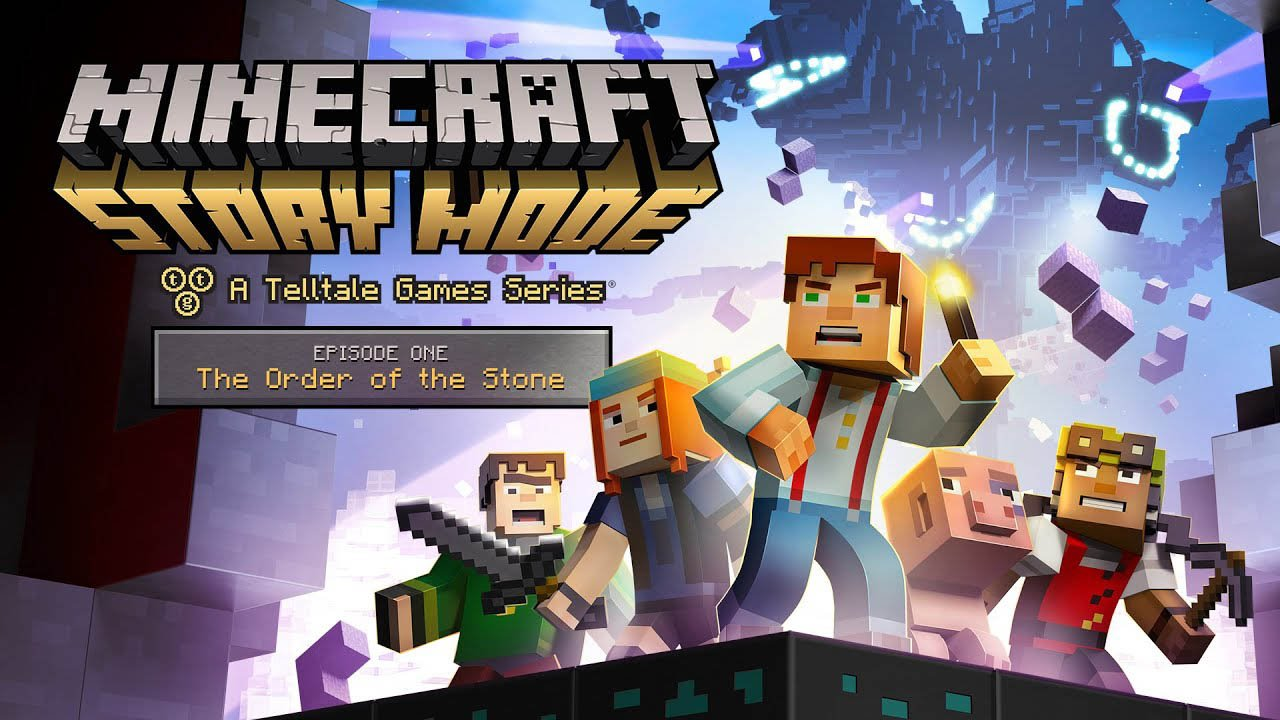 Minecraft Story Mode poster