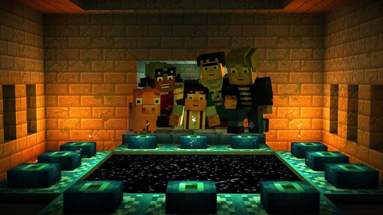 Minecraft Story Mode screen 2